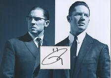 TOM HARDY Signed 12x8 Photo Display LEGEND & BRONSON COA