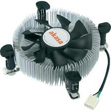 Akasa Ak-cce-7106hp Heatsink and Fan Sockets 775 1155 1156 Low Profile PWM