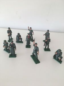 Starlux Lot De 10 Soldats Allemands