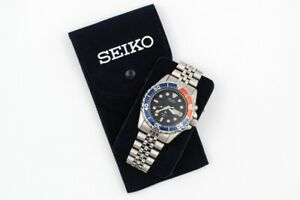 Seiko Carries Watches Limited Edition Blue Dark Double) Flocking Scratch New