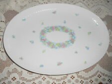 """Rosenthal Germany Garland Multicolor Romance Oval Platter Tray 13"""" x 9"""""""