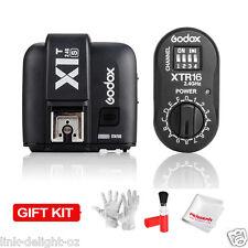 Godox X1T-S TTL Trigger Transmitter +XTR16 Receiver for Sony DSLR TT685S TT600S
