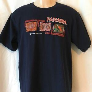PANAMA Holland America Line Men's T Shirt Size M excellent (T139)