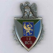 12 RCS Régiment de Commandement et de Soutien Insigne Drago Noisiel  G 3314