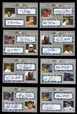 24) Mixed 2007 JUST MINORS Certified & Individually #d Dual Autograph x/25 LOT 3