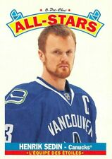 2012-13 O-Pee-Chee All Stars #AS16 Henrik Sedin