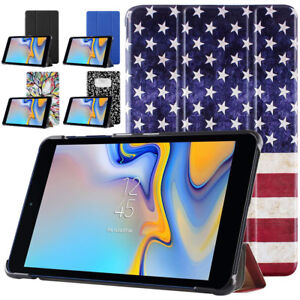 For Samsung Galaxy Tab A 8.0 Tablet Case Folio Stand Smart Cover