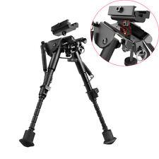6-9'' Adjustable Rifle Bipod+Adapter Mount Swivel Tilt-level Pivot Heavy Duty Us