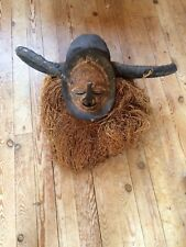 Antique Rare Original African Wooden Mask Yaka DR Congo Africa Tribe Tribal #816
