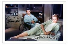 JAMES STEWART & GRACE KELLY Signed Autograph PHOTO Gift Print REAR WINDOW