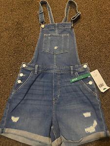 Girls 13-14 Years HM Denim Dungaree Shorts