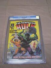 MARVEL Rampaging Hulk (magazine) 6 -- CGC Grade:9.6