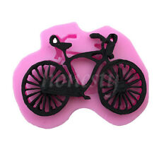 Silicone 3D Bicycle Bike Fondant Cake Chocolate Mold Mould Modelling Decorating