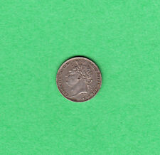 1825 Great Britain - Six Pence - George IV - Extra Fine