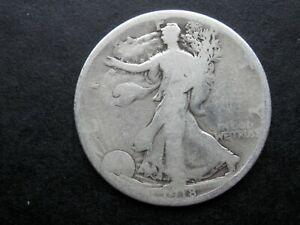 HALF DOLLAR AÑO 1918 - USA  MEDIO DOLAR DE PLATA
