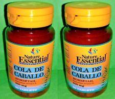 Cola de caballo Horsetail 375 mg. 2x60 tabletas NATURE ESSENTIAL