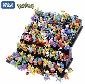 Pokemon toys 24Pcs Tomy Different Styles Pokemon Figures Model Collection 2-3cm