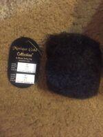 """New Monique Gold Wig """"Tyra"""" Sz 8/9, off black/brownblk, original pkg=====ak"""