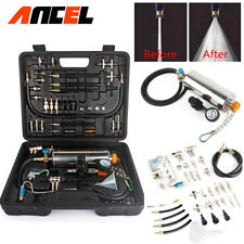 Car Fuel Injector Cleaner Injection Cleaning Tool Kit f/ Honda Chevy BMW GM Ford