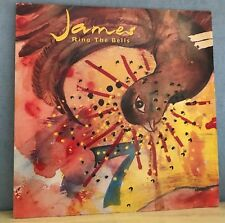 "JAMES Ring The Bells 1992 UK 4-track 12"" vinyl single EXCELLENT CONDITION a"