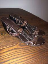 Original Robert clergerie compensé sandales-marron-taille 39