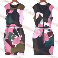 New Ted Baker GININA Maple Swirl Bodycon Dress
