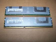 8gb SAMSUNG pc3-8500r 4rx8 1066mhz ddr3 ECC Reg RAM del server (2x 4gb)