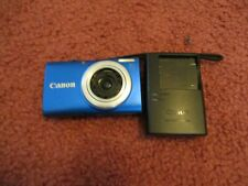 Canon Powershot A4000 16.0 MP Blue Digital Camera USED READ