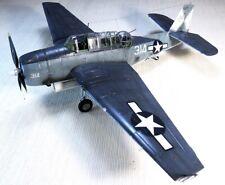 PRO-BUILT 1/48 TBM-3 Avenger US WW2 torpedo bomber - finished model (IN-STOCK)