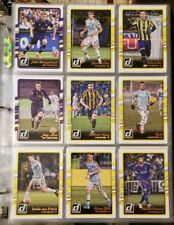 2016 Donruss Soccer Complete Base Set cards 1 to 200 Messi, Neymar, Ronaldo
