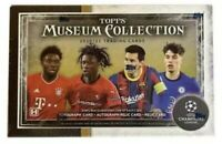 2021 Topps UEFA Champions League Museum Collection Soccer Hobby Box CONFIRMED