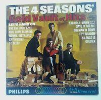 The 4 Seasons Gold Vault Of Hits LP Philips 1965 Vinyl Record Album