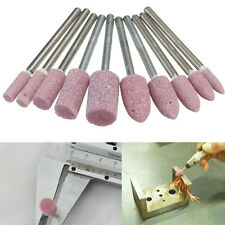 10 stk Schleifstift Schleifsteine schaft 3.175mm für Proxxon Bohrmaschine b T2H0