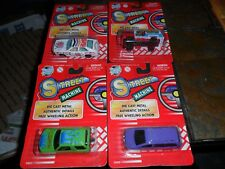 4 LOT Mint Road Tough Yat Ming Street Machine 1/64 Toys ICE CREAM TRUCK INDIAN +