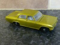 VINTAGE LESNEY MATCHBOX No.36 OPEL DIPLOMAT GREEN VERY GOOD CONDITION FOR AGE