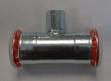 GEBERIT Mapress T-Stück 21316 IG 42x1/2x42mm reduziert Pressfitting Neu