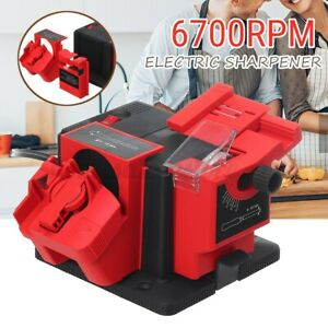 Electric Sharpener Tool Drill Bit Chisel Scissor Grinder Household Multifunction