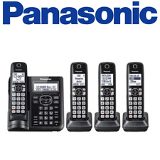 Panasonic KX-TGF544B 4 Handset Cordless telephone w/ answering machine