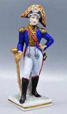 Sitzendorf Voigt Brothers Napoleon Soldier French Drummer Porcelain Figurine
