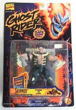 Marvel Ghost Rider Skinner Action Figure by Toy Biz NIB Glow-In-The-Dark 1995