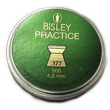 bisley practice 4.5mm / .177 cal 500 tin of  pellets