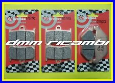 Pasticche Ant. Post. Brembo XS Yamaha XP T-max ABS 530 2014 14 07077xs 07052xs