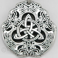 TRIQUETRA EAGLE CELTIC KNOT Necklace Talisman Wisdom Spirit Pendant bin in store