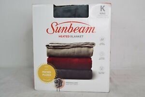 Sunbeam 2099700 Premium Soft Electric Heated Throw Blanket