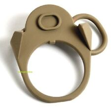 Sling Attachment Point Plate Mount Ambidextrous GBB for Magpul MS2 Slings Tan