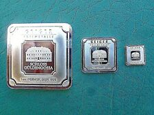 Geiger Edelmetalle Family Pack 1-1oz. Bar 1-5 Gram Bar & 1-1 Gram Bar / 3-Bars..
