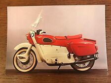 Vintage 1964 Ariel Leader 250cc National Motorcycle Museum Postcard