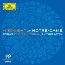 OLIVIER LATRY - MIDNIGHT AT NOTRE-DAME  SACD  10 TRACKS CLASSIC ORGAN NEW!