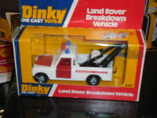 RARE VINTAGE DINKY No 442, LAND ROVER,BREAKDOWN,4x4,RECOVERY,OWNED FROM NEW,MINT