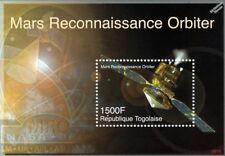 MARS RECONNAISSANCE ORBITER (MRO) Spacecraft Space Stamp Sheet (2006 Togo)